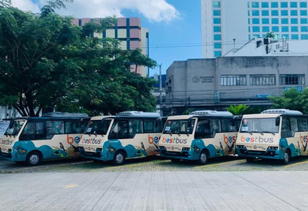 China Dynamics Rolls Out Electric Buses in Davao, Philippines