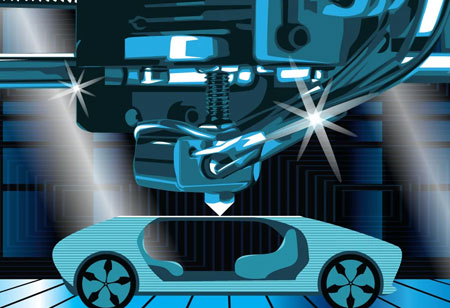 How is Addictive Manufacturing Benefitting the Automotive Industry?