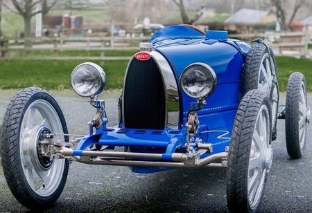 Bugatti Owners Club Gives Stamp of Approval to Bugatti Baby II