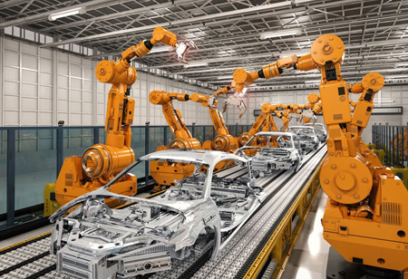 How Robots Impact Automotive Manufacturing
