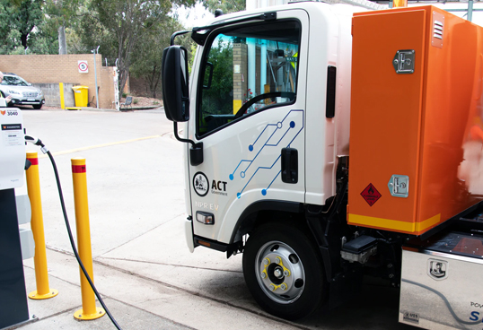 ACT Government Introduces First SEA EV Tipper Truck